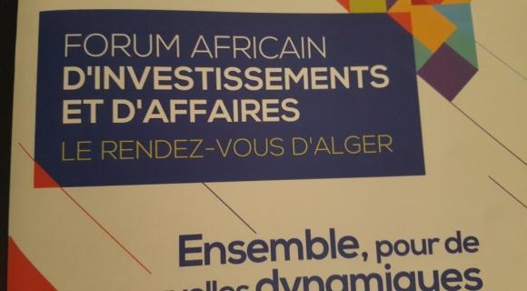 IRIS présent au Forum Africain d'Investissements et Affaires